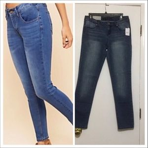 Rue 21 Low. rise  Skinny   blue Jeans